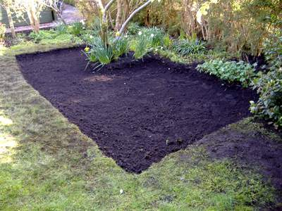Digging Patio Foundations