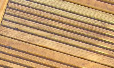 Wooden Patio Decking