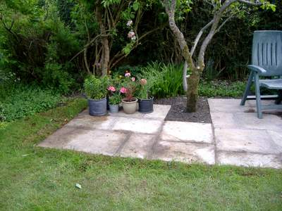 Building A Patio, The Finishing Touches