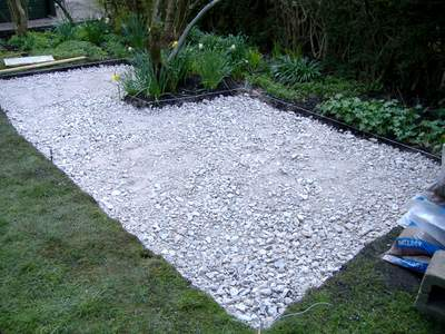 How To Build Your Own Patio, Preparing The Foundations